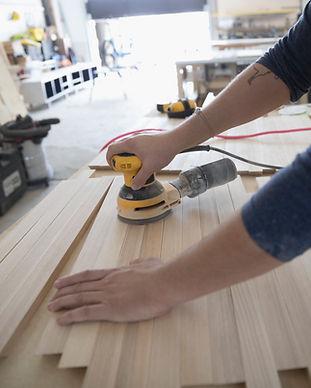 Atelier de charpentier