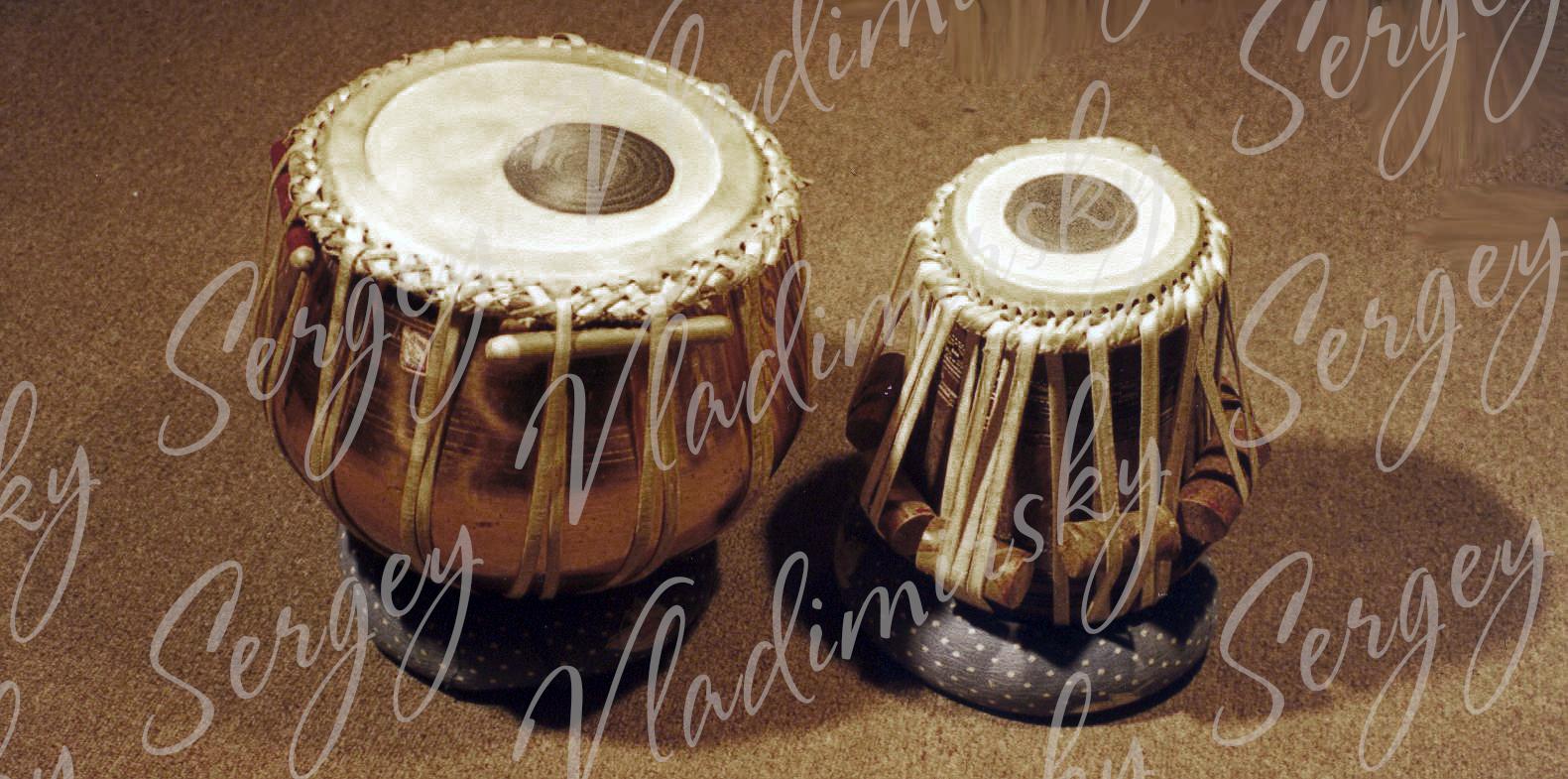 Индийские барабаны Табла
