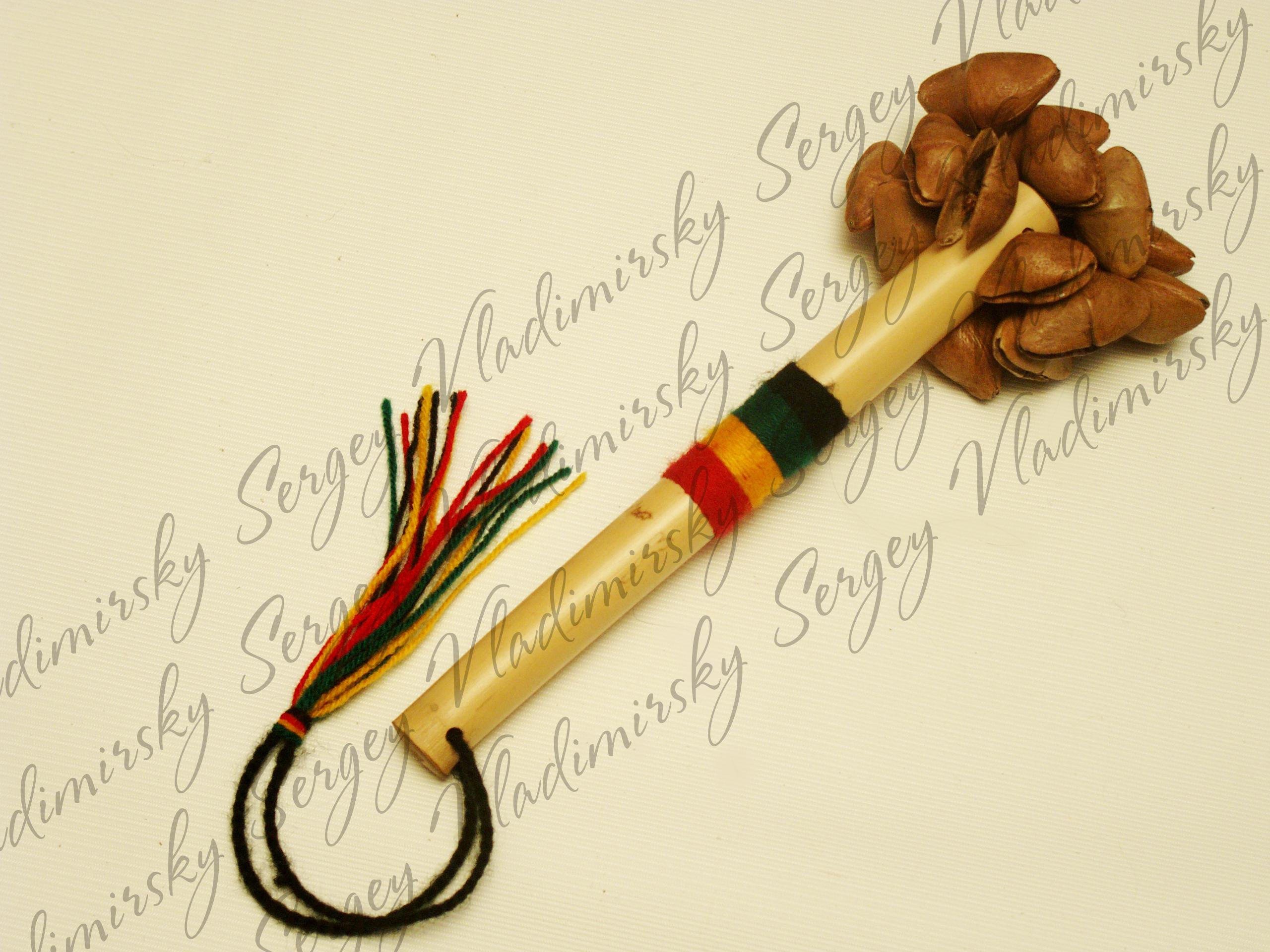 Чайчас - перкуссионный инструмент коренных народов Латинской Америки