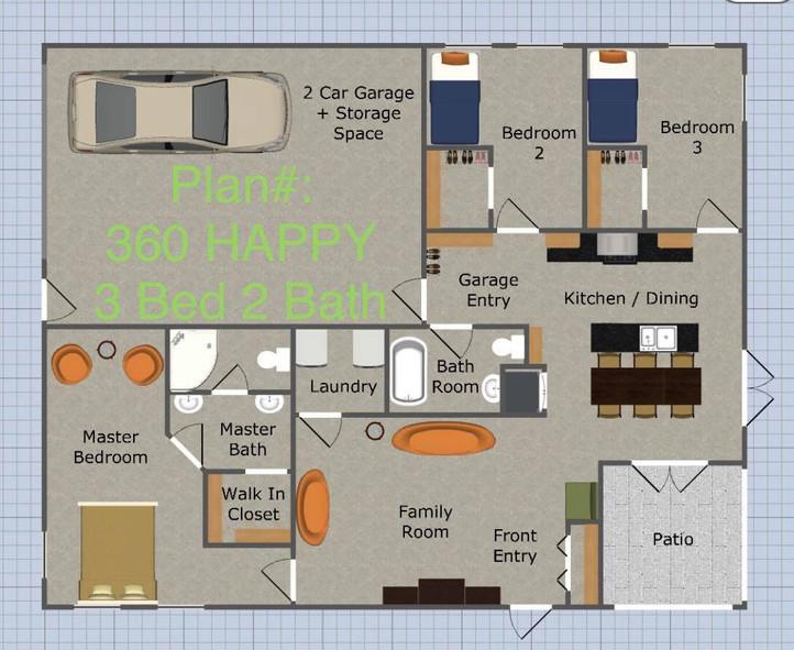 Plan #360 Happy