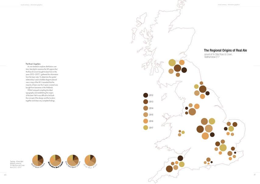 Rose & Crown Beer Map