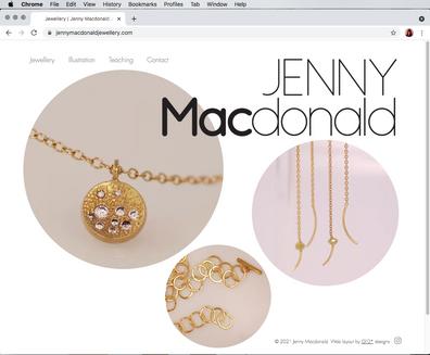 Jenny Macdonald Web site