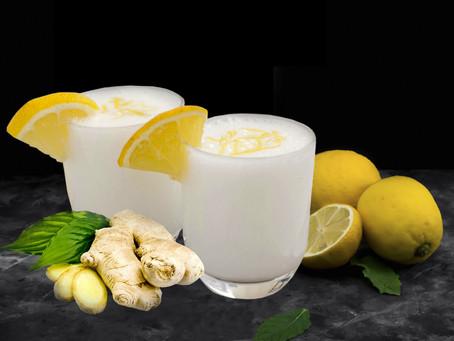 Sorbetto limone e zenzero