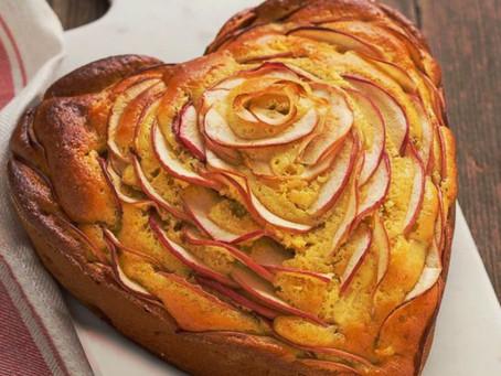 Torta di mele rivisitata allo Zenzero (San Valentino)