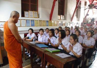 Applied Scholarship Students CLC Wat Aru