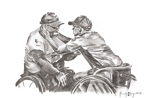 """Original sketch - """"Mateship"""""""
