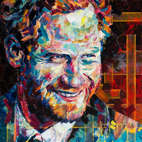 "PRINT (Signed Artist's Proof) - ""I AM... the Founder - Prince Harry"""