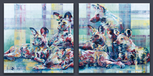 Painted Dogs Painted