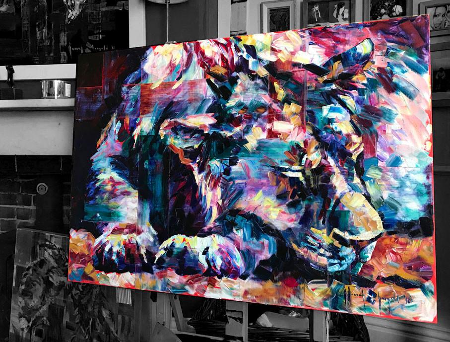 Hannah Shergold - Lioness - work in progress