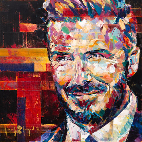 "PRINT (Signed Artist's Proof) - ""I AM... the Ambassador - David Beckham"""
