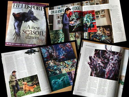 Field Sports Magazine's 'Sporting Artist'