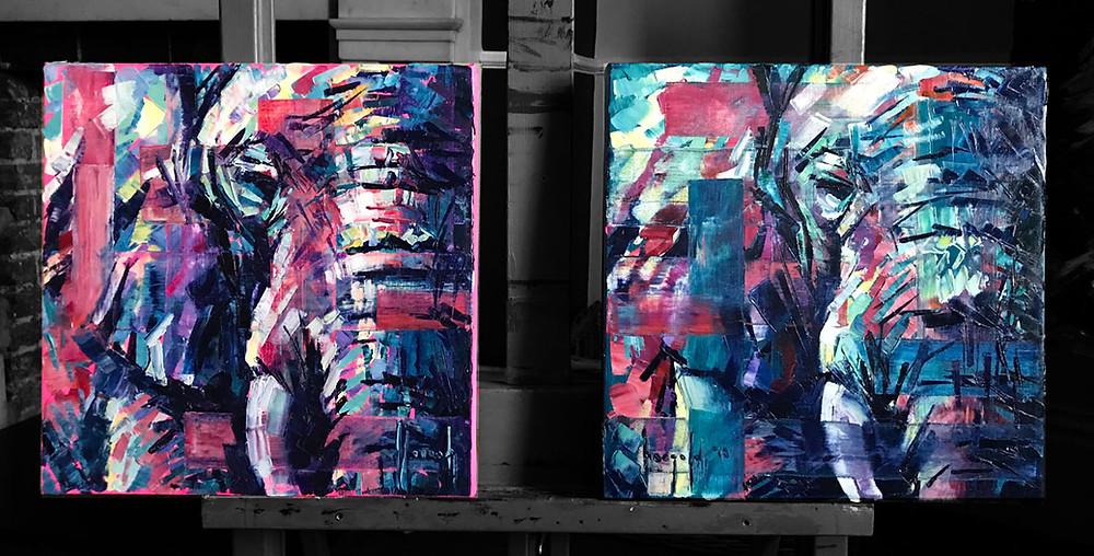Hannah Shergold: Elephants - His & Hers