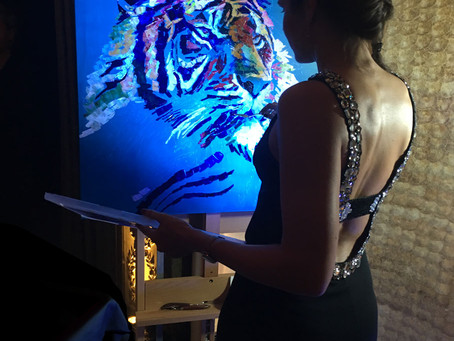 Painting for the World Wildlife Fund