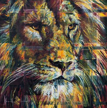His Lion Eyes