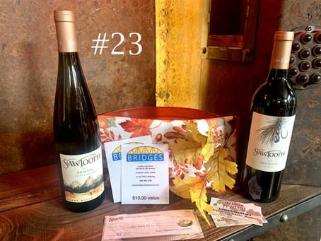 Item #23:  Wine/ Dinner/Coffee