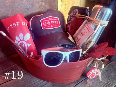 Item #19:  Chick-Fil-A Gift Basket