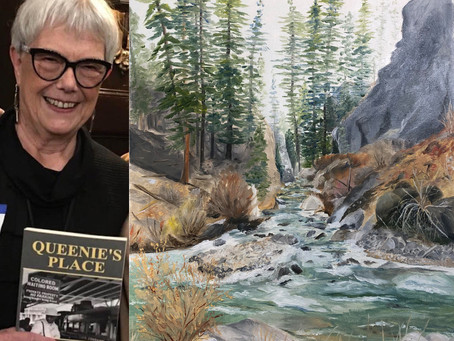 Item #25: A ZOOM of Art & Literature with local Author/Artist Toni Morgan