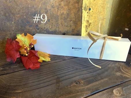 Item #9:  Apple series 3 watch