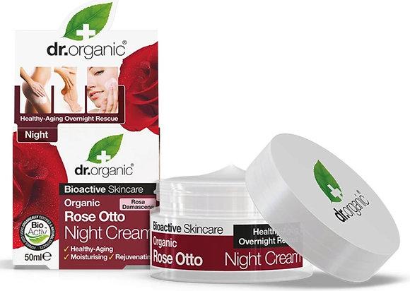 """קרם לילה ורדים ד""""ר אורגניק"""