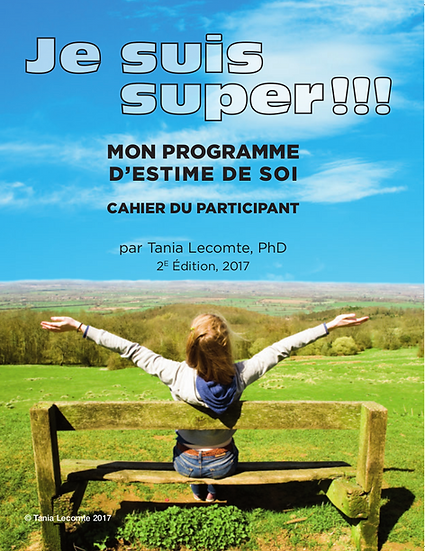 VERSION DIGITALE - Je suis super !, module d'estime de soi : cahier du ...