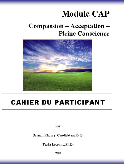 VERSION DIGITALE - Module CAP: Compassion – Acceptation – Pleine Conscience