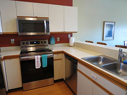 Nice stainless steelappliances