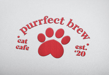 Purrfect Brew Apparel Composition