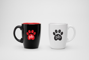 Purrfect Brew Branding - Coffee Mugs