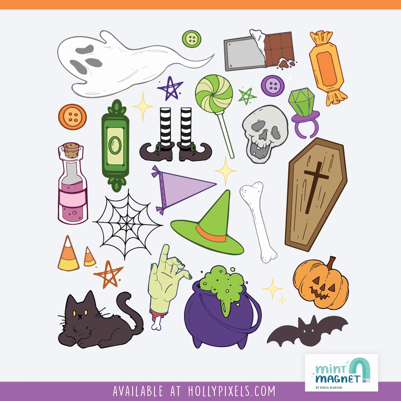 Spooky Stickers