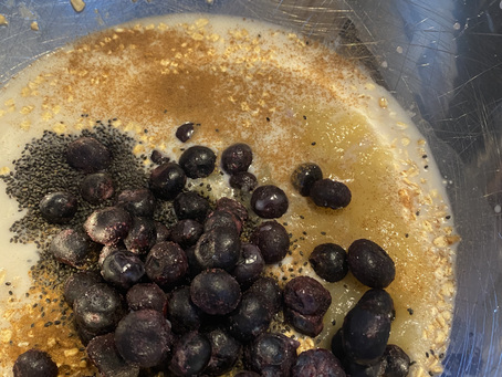 Recipe: Baked Berry Almond Oatmeal