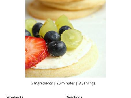 Recipe: Mini Fruit Pizza