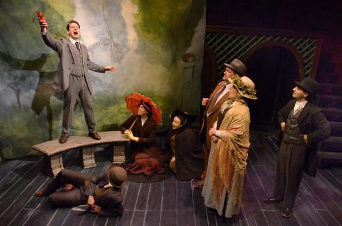 Lifeline Theatre's The Man Who Was Thursday