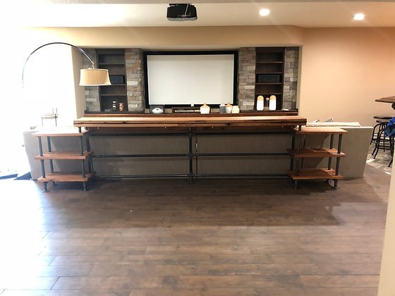 Red Oak Sofa Bar 233