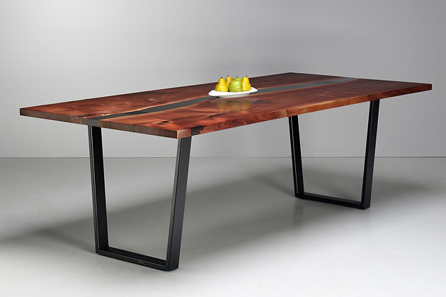 Walnut River Dining Table 100
