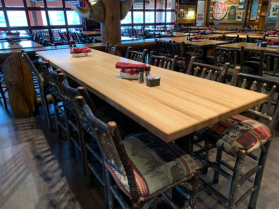 Red Oak Butcher Block 235