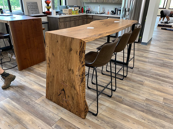 White Oak Breakroom Table 122