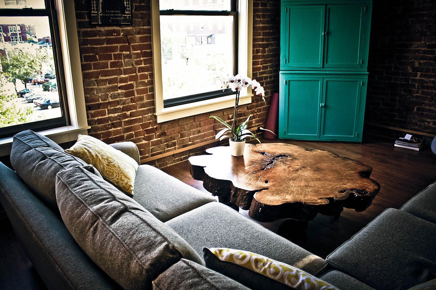 Living Room Furniture Kansas City Kc Custom Hardwoods Live Edge Tables And Slabs