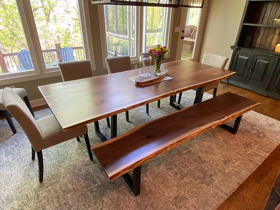Walnut Dining Table 230