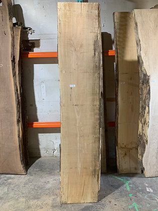 """Spalted Maple (1222) 100"""" L x 19-20"""" W x 1.5"""" T"""