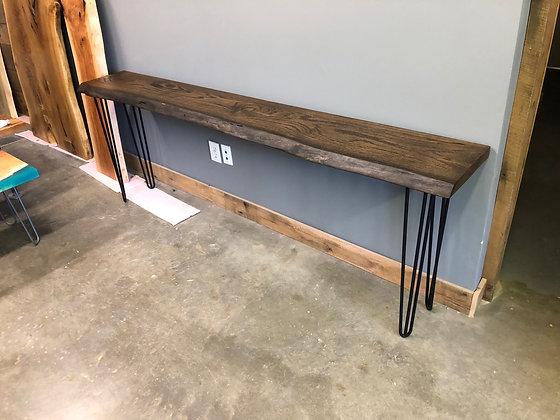 Oak Console Table 196