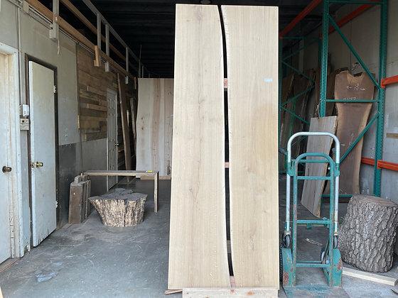 """White Oak Table Top (1371) 96"""" L x 36"""" W x 2"""" T"""