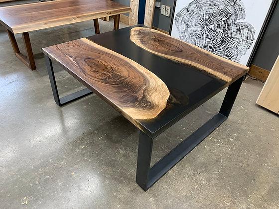 Walnut Epoxy River Coffee Table 125
