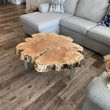 Maple Cross Cut Coffee Table 168