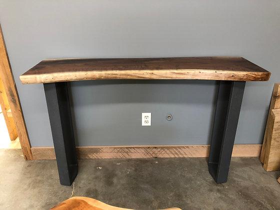 Walnut Console Table 197