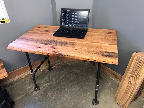Reclaimed Red Oak Desk 249