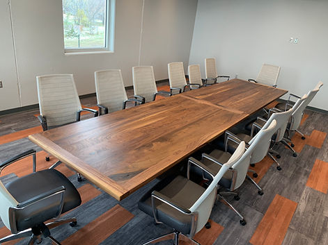 Walnut 16 ft with chairs.JPG