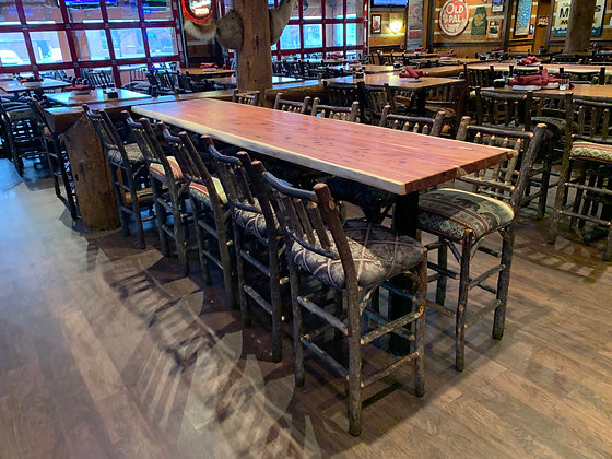 Cedar Bar Table 211