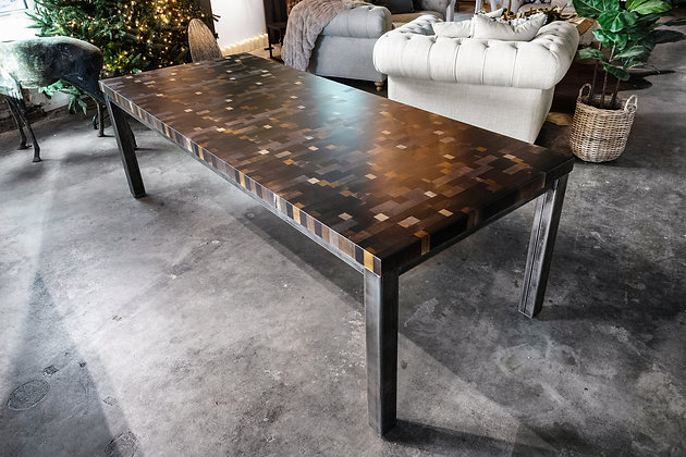 Butcher Block Dining Table 277