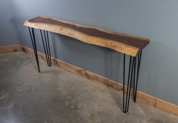 Walnut Console Table 198