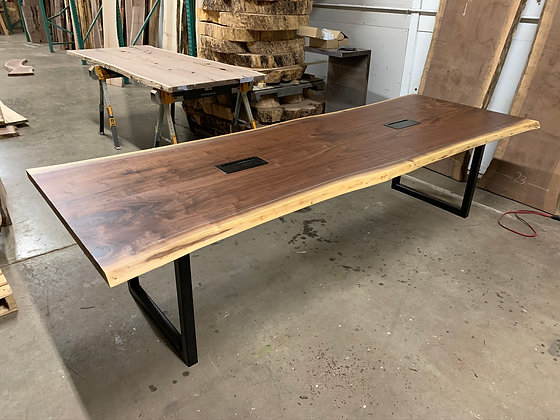 Walnut Conference Table 112